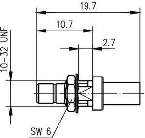 Разъем для гибких кабелей J01160A0391