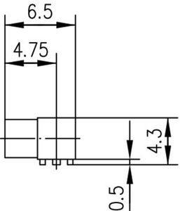 Разъем для печатных плат J01341A0061