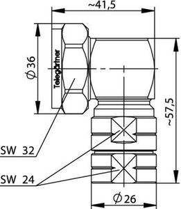 Разъем для фидерных кабелей J01120A0094