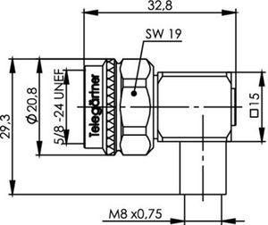 Междусерийный ВЧ адаптер J01027C0020