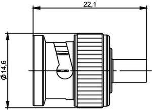 Разъем для полужёстких кабелей J01000A0026