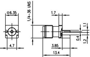 Разъем для печатных плат J01151A1201