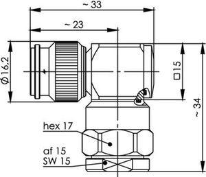 Разъем для гибких кабелей J01010B0023