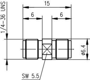 Внутрисерийный ВЧ адаптер J01154A0001
