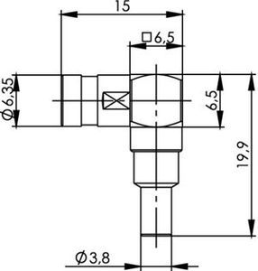 Разъем для гибких кабелей J01161A0801