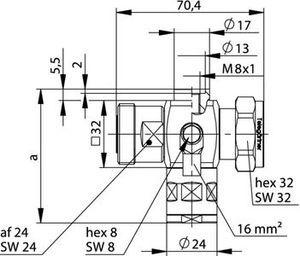 Грозоразрядник с четвертьволновым отрезком J01125B0016