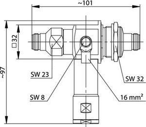 Грозоразрядник с четвертьволновым отрезком J01028A0053