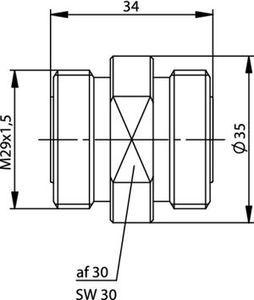 Внутрисерийный ВЧ адаптер J01023B0001