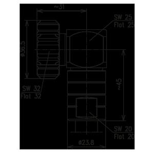 Разъем для фидерных кабелей BN 847357