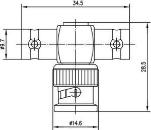 Внутрисерийный ВЧ адаптер J01005A1238
