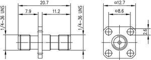 Внутрисерийный ВЧ адаптер J01154A0011