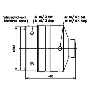 Разъем для фидерных кабелей BN 655663
