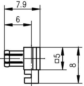 Разъем для полужёстких кабелей J01270A0281