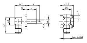 Разъем панельный J01151A0651