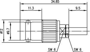 Разъем для гибких кабелей J01013B0008