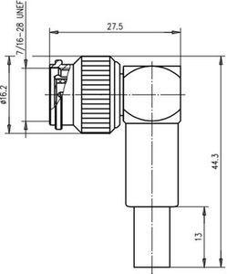 Разъем панельный J01011H2615