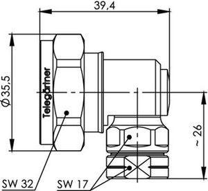 Разъем для фидерных кабелей J01120D0034