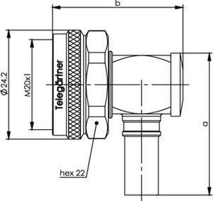 Разъем для гибких кабелей J01440A3016