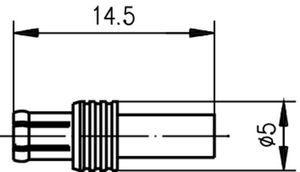 Разъем для гибких кабелей J01270A0171