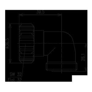 Внутрисерийный ВЧ адаптер BN 296400