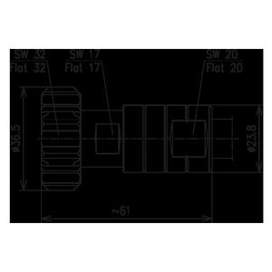Разъем для фидерных кабелей BN 847359