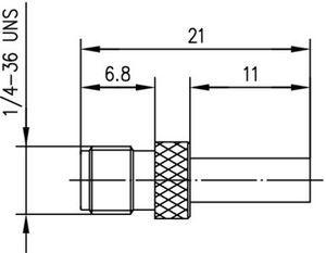 Разъем для гибких кабелей J01151R0021