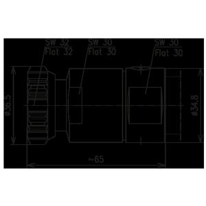 Разъем для фидерных кабелей BN 844840