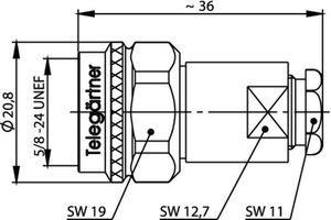 Разъем для фидерных кабелей J01020C0105