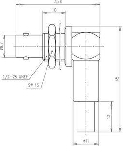 Разъем для гибких кабелей J01003A1371