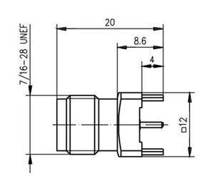 Разъем для гибких кабелей J01012A0002