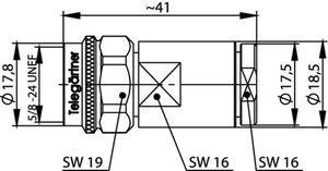 Разъем для фидерных кабелей J01020A0150