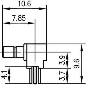 Разъем для печатных плат J01190A0041