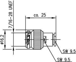 Разъем для гибких кабелей J01010A0022