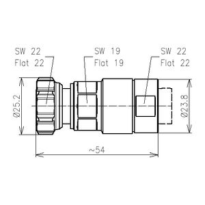 Разъем для фидерных кабелей BN 431117