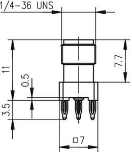 Разъем для печатных плат J01151A0331