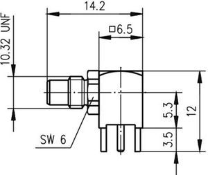 Разъем для печатных плат J01170A0101
