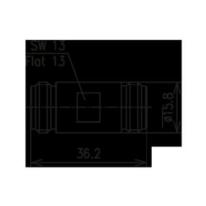 Внутрисерийный ВЧ адаптер BN 293750