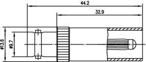 Междусерийный ВЧ адаптер J01008A0802