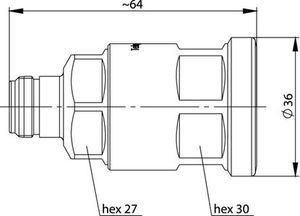 Разъем для фидерных кабелей J01021A0201