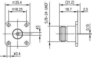 Разъем панельный J01021A0139
