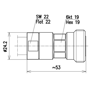 Разъем для фидерных кабелей BN 654317