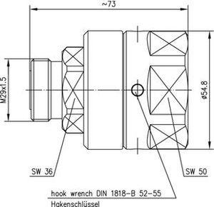 Разъем для фидерных кабелей J01121G0136