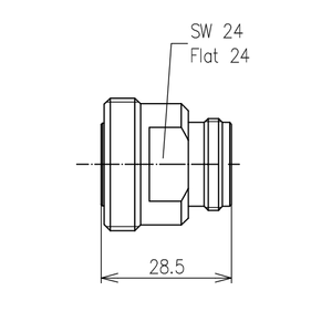 Междусерийный ВЧ адаптер BN 941810
