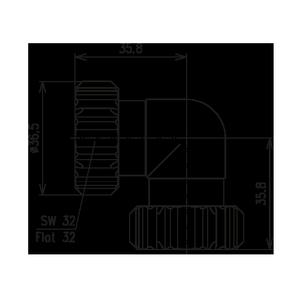 Внутрисерийный ВЧ адаптер BN 944702