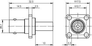 Разъем для гибких кабелей J01001A0080