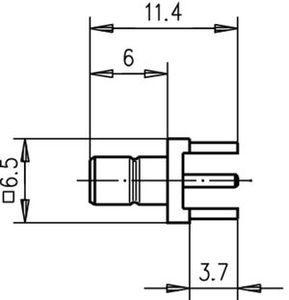 Разъем для печатных плат J01160A0211