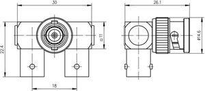 Внутрисерийный ВЧ адаптер J01004A0011