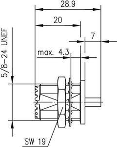 Разъем для гибких кабелей J01041A0004