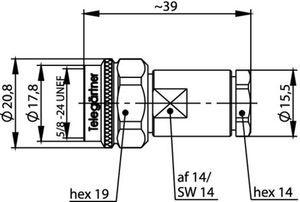 Разъем для гибких кабелей J01020A0168
