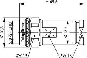 Разъем для фидерных кабелей J01021A0041